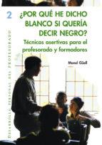 ¿Por qué he dicho blanco si quería decir negro? (ebook)