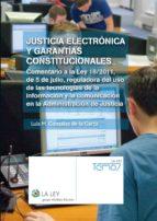 Justicia electrónica y garantías constitucionales (ebook)