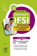 Concours IFSI 2016-2017 - Culture générale - 1 200 QCM (ebook)