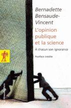 L'opinion publique et la science (ebook)