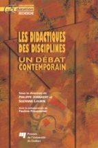 Les didactiques des disciplines (ebook)