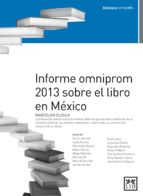 Informe omniprom 2013 sobre el libro en México (ebook)