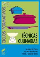 Técnicas culinarias (ebook)