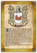 Apellido Sansano / Origen, Historia y Heráldica de los linajes y apellidos españoles e hispanoamericanos