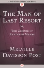 The Man of Last Resort (ebook)