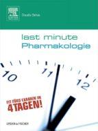 Last Minute Pharmakologie (ebook)