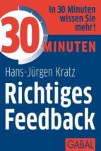 30 Minuten Richtiges Feedback (ebook)