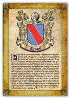 Apellido Aguacil / Origen, Historia y Heráldica de los linajes y apellidos españoles e hispanoamericanos