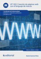 Creación de páginas web con el lenguaje de marcas. IFCD0110  (ebook)