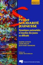 Le projet Solidarité Jeunesse (ebook)