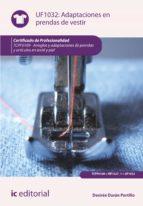 Adaptaciones en prendas de vestir. TCPF0109  (ebook)
