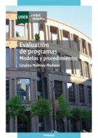 Evaluación de programas. Modelos y procedimientos (ebook)