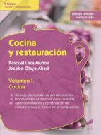 Cocina y restauración. Volumen I (ebook)