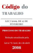 Código do Trabalho e do Processo do Trabalho (ebook)