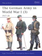 The German Army in World War I (3) (ebook)