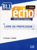 Écho - Niveau B1.1 - Guide pédagogique en version ebook - 2ème édition (ebook)