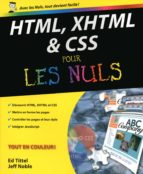 HTML, XHTML et les CSS Pour les nuls (ebook)