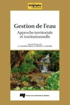 Gestion de l'eau (ebook)