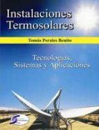 INSTALACIONES TERMOSOLARES (ebook)