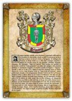 Apellido Arimany / Origen, Historia y Heráldica de los linajes y apellidos españoles e hispanoamericanos