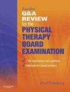Saunders' Q & A Review for the Physical Therapy Board Examination (ebook)