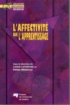 L'affectivité dans l'apprentissage (ebook)