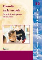 Filosofía en la escuela (ebook)