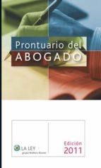 Prontuario del Abogado 2011 (ebook)