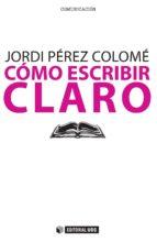 Cómo escribir claro (ebook)