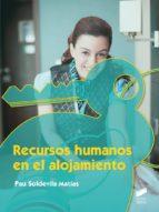 Recursos humanos en el alojamiento (ebook)