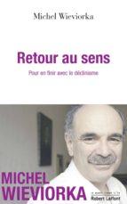 Retour au sens (ebook)