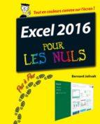 Excel 2016 Pas à pas pour les Nuls (ebook)