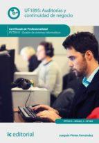Auditorías y continuidad de negocio. IFCT0510 (ebook)