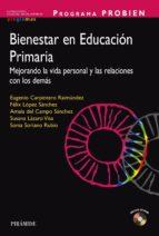 PROGRAMA PROBIEN. Bienestar en Educación Primaria (ebook)