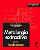 Metalurgia extractiva. Fundamentos (ebook)