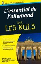 Essentiel de l'allemand Pour les Nuls (ebook)