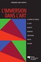 L'immersion dans l'art (ebook)