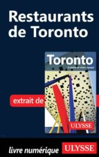 Restaurants de Toronto (ebook)