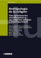 Antropología de la religión (ebook)