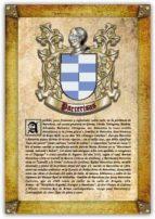 Apellido Parcerisas / Origen, Historia y Heráldica de los linajes y apellidos españoles e hispanoamericanos