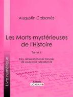 Les Morts mystérieuses de l'Histoire (ebook)