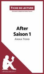 After d'Anna Todd - Saison 1 (Fiche de lecture) (ebook)