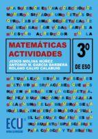 Actividades de matemáticas. 3.º ESO (ebook)