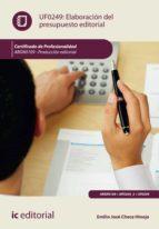 Elaboración del presupuesto editorial. ARGN0109 (ebook)
