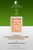Resumen de La Revolucion de Octubre, de Marcelino Domingo (ebook)