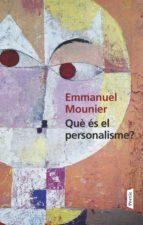 Què és el personalisme (ebook)