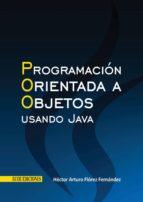 Programación orientada a objetos usando Java (ebook)