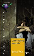 Cuatro muertes para Lidia (ebook) (ebook)