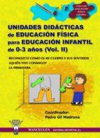UNIDADES DIDÁCTICAS DE EDUCACIÓN FÍSICA PARA EDUCACIÓN INFANTIL DE 0-3 AÑOS (VOLUMEN II) (ebook)
