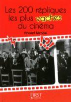 Petit livre de - 200 répliques les plus vaches du cinéma (ebook)